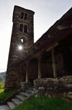 Igreja de Sant Joan de Caselles imagens de stock royalty free