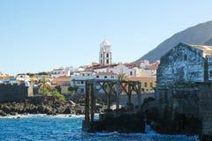 Igreja de Santa Ana em Garachico, Tenerife Foto de Stock