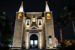 Igreja de Santa Ana, Merida, Iucatão, México fotos de stock royalty free