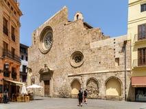 Igreja de Santa Catalina In Valencia Fotos de Stock Royalty Free