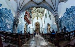Igreja de Santa Cruz - Κοΐμπρα Στοκ Εικόνες