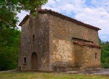Igreja de Santa Magdalena em Besalu Imagem de Stock