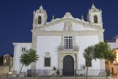 Igreja de Santa Maria в Лагосе Португалии Стоковые Фото