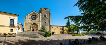 Igreja de Santa Maria della Consolazione, Altomonte Foto de Stock Royalty Free