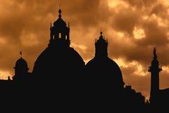 Igreja de Santa Maria di Loreto, Roma, Itália foto de stock