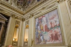 Igreja de Santa Maria Trastevere em Roma Imagem de Stock
