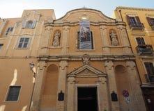 Igreja de Santa Rosalia e de San Salvatore em Cagliari Fotos de Stock