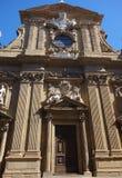 Igreja de Santi Michele e Gaetano Baroque em Florença, Itália fotografia de stock