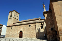 Igreja de Santiago Apostle, Ciudad Real, Espanha imagem de stock royalty free
