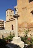 Igreja de Santiago Apostle, Ciudad Real, Espanha fotos de stock royalty free