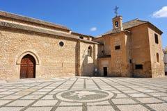 Igreja de Santiago Apostle, Ciudad Real, Espanha foto de stock royalty free