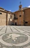 Igreja de Santiago Apostle, Ciudad Real, Espanha imagens de stock royalty free