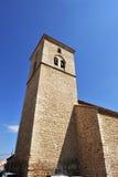 Igreja de Santiago Apostle, Ciudad Real, Espanha imagens de stock