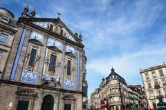 Igreja de Santo Antonio in City of Porto Royalty Free Stock Photo