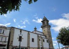 A igreja de Santo Domingo em Betanzos Fotos de Stock Royalty Free