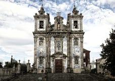The Igreja de Santo Ildefonso church in Porto Stock Image