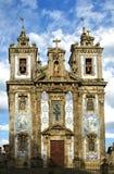 The Igreja de Santo Ildefonso church in Porto Royalty Free Stock Image