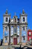 Igreja de Santo Ildefonso in Porto Stock Photography