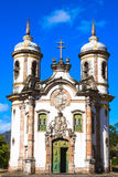 Igreja de Sao Francisco de Assis Ouro Preto Fotos de archivo