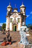 Igreja de Sao Francisco de Assis  Ouro Preto Stock Photos