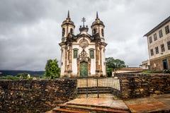 The Igreja de Sao Francisco de Assis Stock Photo