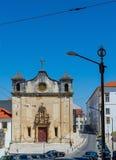 Igreja de Sao Joao de Almedina kyrka i Coimbra portugal Royaltyfria Bilder