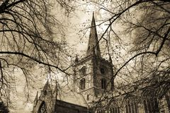 Igreja de Shakespeare fotografia de stock royalty free