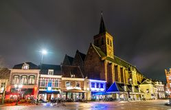 Igreja de Sint-Joriskerk em Amersfoort, os Países Baixos fotos de stock royalty free