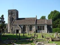Igreja de Somerset fotos de stock