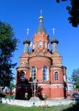 Igreja de Spaso-Grobovskaya imagens de stock royalty free