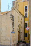 Igreja de Speranza em Cagliari Foto de Stock