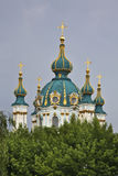 Igreja de St Andrew em Kiev ucrânia Imagem de Stock Royalty Free