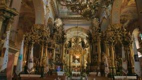 Igreja de St Andrew, Lviv video estoque