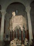 A igreja de St Andrew o apóstolo - Pistoia, Tusc fotografia de stock