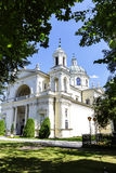 Igreja de St Anne em Warsaw's Wilanow, Polônia Fotografia de Stock