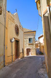 Igreja de St Antonio Genzano di Lucania Italy Imagem de Stock