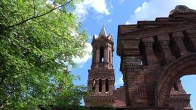 Igreja de St Barbara video estoque
