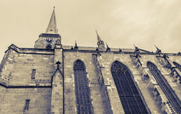 Igreja de St Bartholomew em Pilsen Fotos de Stock
