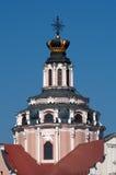 A igreja de St. Casimiro em Vilnius, Lithuania Foto de Stock Royalty Free