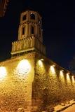 Igreja de St Constantim e St Helena e cidade velha na cidade de Plovdiv, Bulgária Fotos de Stock