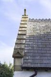 Igreja de St Digain, Llangernyw, Gales Imagens de Stock
