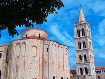 Igreja de St Donat Zadar Fotografia de Stock