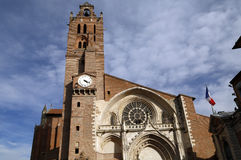 Igreja de St Etienne em toulouse Foto de Stock