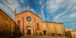 Igreja de St Francis em Mantua foto de stock royalty free