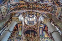 A igreja de St George em Oplenac, Sérvia Fotos de Stock Royalty Free