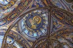A igreja de St George em Oplenac, Sérvia Imagens de Stock Royalty Free