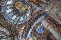 A igreja de St George em Oplenac, Sérvia Foto de Stock Royalty Free