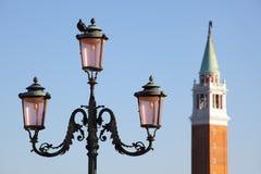 A igreja de St. George em Veneza fotos de stock