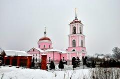 Igreja de St George o vitorioso em Alyoshino foto de stock royalty free