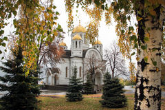 Igreja de St George Victorious no Samara Imagens de Stock Royalty Free
